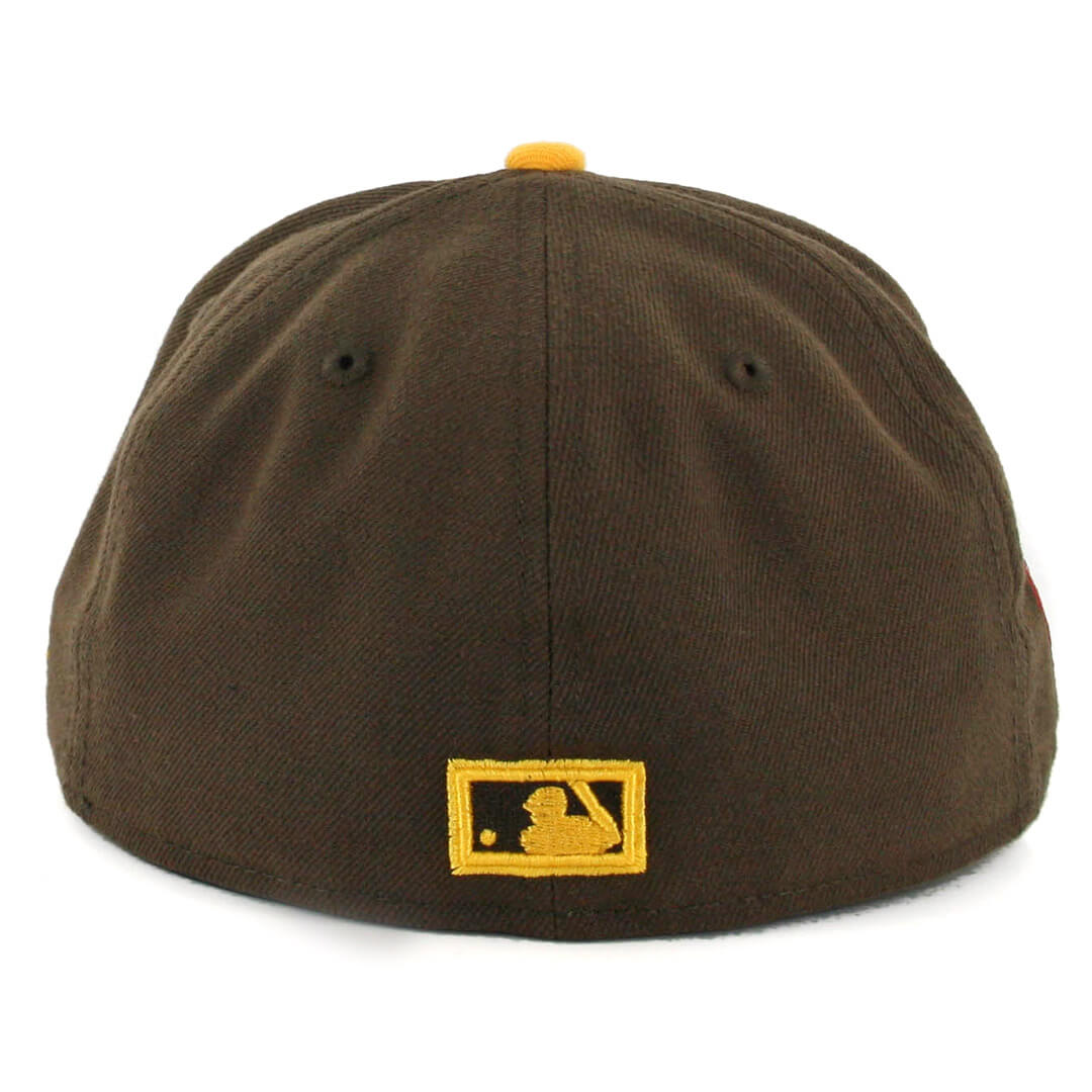 sale retailer b26a7 fe127 ... shop new era 59fifty san diego padres 1976 jersey front centennial  patch hat. . 34.99