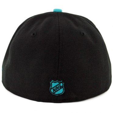 New Era 59Fifty San Jose Sharks Fitted Hat Black Teal