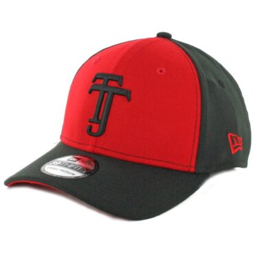 New Era 39Thirty Tijuana Xolos Stretch Fit Hat Scarlet Black