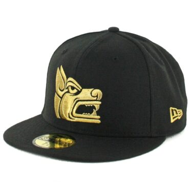 New Era 59Fifty Tijuana Xolos Prehispanic Fitted Hat Black Gold