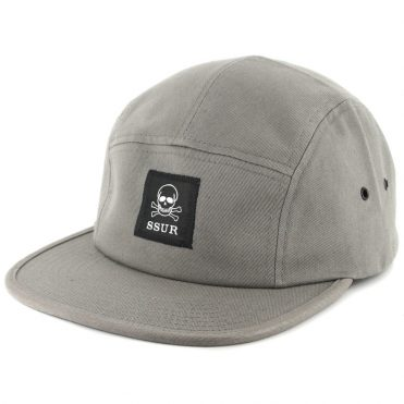 SSUR Controlled Substance Camp Clipback Hat Charcoal