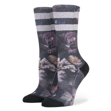 Stance Women's Dark Blooms Socks Black