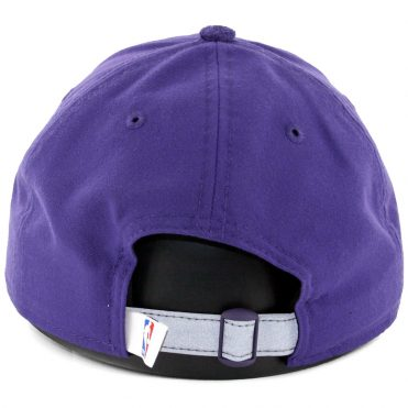 New Era 9Twenty Phoenix Suns On Court Official 2017 Strapback Hat Purple