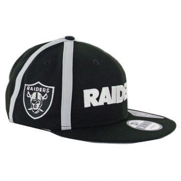 New Era 9Fifty Oakland Raiders Y2K X Seam Snapback Hat Black