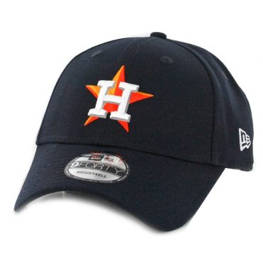 New Era 9Forty Houston Astros Home World Series 2017 The League Strapback Hat Dark Navy
