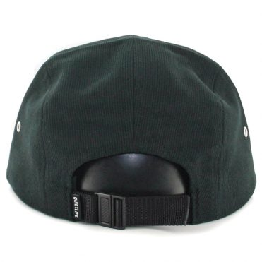 The Quiet Life Cord Combo 5 Panel Clipback Hat Black