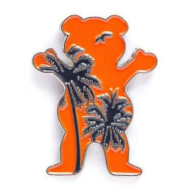 Grizzly Laguna Bear Pin