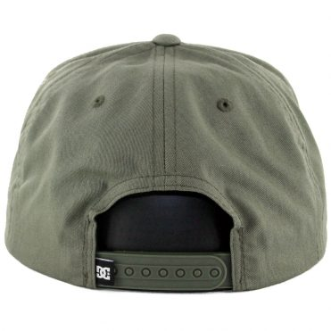 DC Shoes Snappy Snapback Hat Fatigue Green