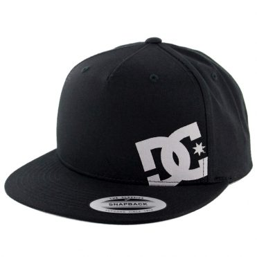 DC Shoes Heard Ya 2 Snapback Hat Black