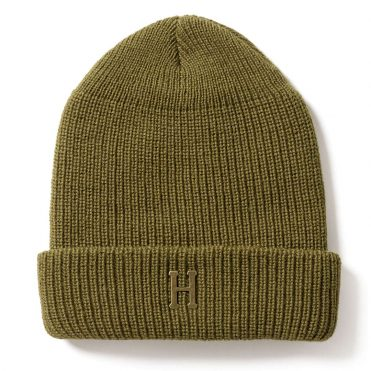 HUF Brass H Military Beanie Olive