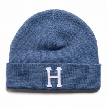 HUF Classic H Beanie Denim Heather