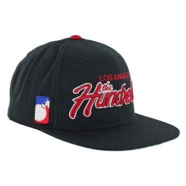 The Hundreds Team Two FA17 Snapback Hat Black