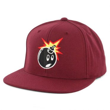 The Hundreds Adam FA17 Snapback Hat Fuchsia