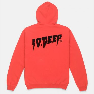 10 Deep Sound & Fury Hooded Sweatshirt Old Red