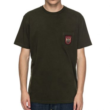DC Shoes Barkly Pocket T-Shirt Dark Olive