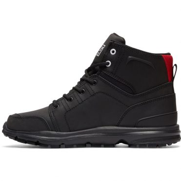 DC Shoes Men's Torstein Boot Black Athletic Red White