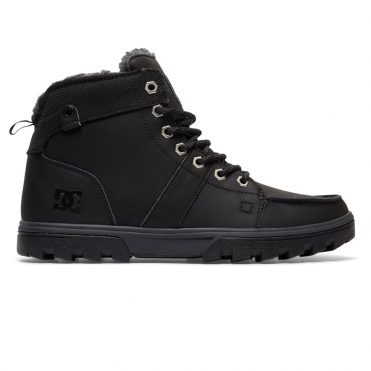 DC Shoes Men's Woodland Boot Black Grey