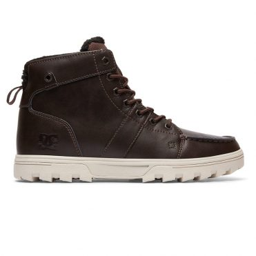 DC Shoes Men's Woodland Boot Brown Tan