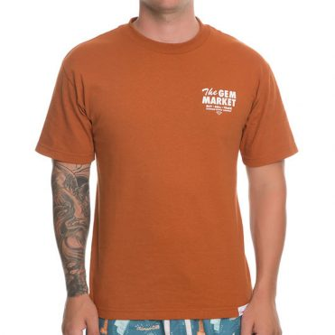 Diamond Supply Co Gem Market T-Shirt Burnt Orange