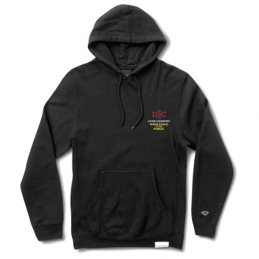 Diamond Supply Co Loose Diamonds Pullover Hooded Sweatshirt Black