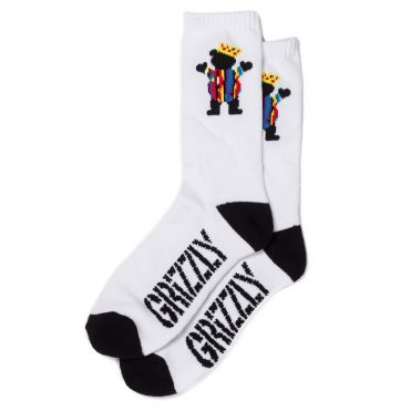 Grizzly Felipe OG Bear Socks White