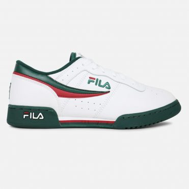 FILA Original Fitness Shoe White Sycamore Biking Red