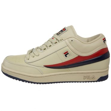 FILA Original Tennis Shoe Fila Cream Fila Navy Fila Red