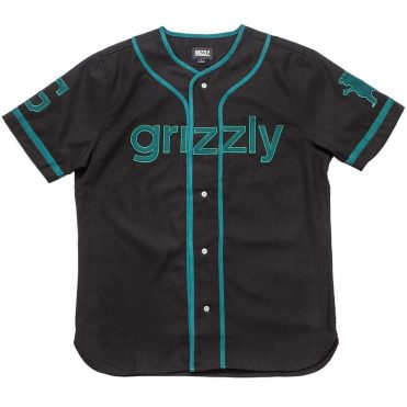 Grizzly Third Base Jersey Black