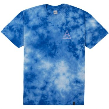 HUF Washed Triple Triangle T-Shirt Blue