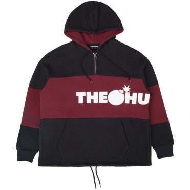 The Hundreds Tourist Pullover Hooded Sweatshirt Black