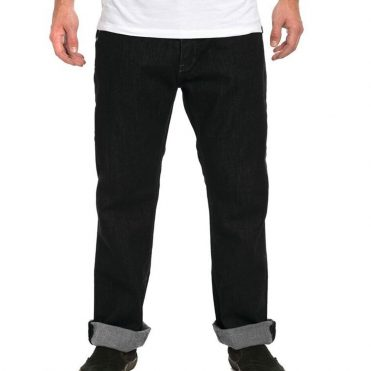 KR3W Klassic Denim Straight Jeans Dark Black