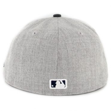 New Era 59Fifty San Diego Padres Heather Crisp 2 Fitted Hat Heather Grey Navy