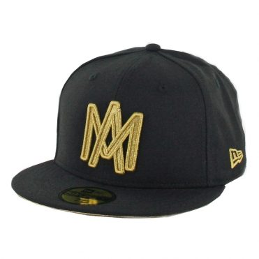 New Era 59Fifty Aguilas de Mexicali Campeones Fitted Hat Black Gold