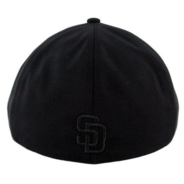 New Era x Black Label San Diego Padres Suiting Duckbill Hat Black