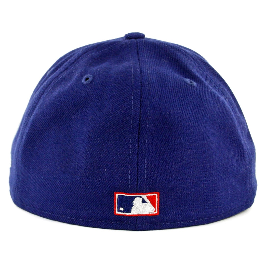"""New Era Chicago Cubs Fitted Hat All Royal///""""Cubs/"""""""