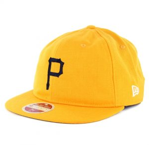 New Era 59Fifty Pittsburgh Pirates Vintage Wool Classic Fitted Hat Yellow -  Billion Creation Streetwear f581d8aa5c6