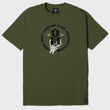 REBEL8 Phantom Division T-Shirt Military Green