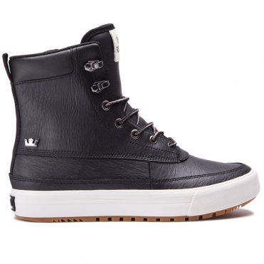 Supra Oakwood Shoe Black Grey Violet
