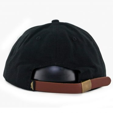 Benny Gold Track Canvas Polo Strapback Black