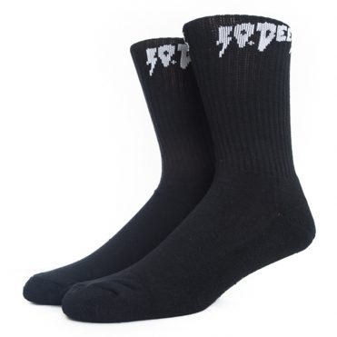 10 Deep Sound & Fury Sock Black