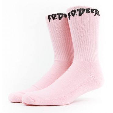 10 Deep Sound & Fury Sock Pink