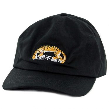 10 Deep Tiger Strapback Hat Black