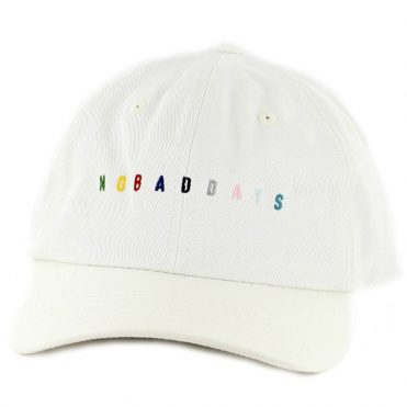 10 Deep No Bad Days Strapback Hat Off White