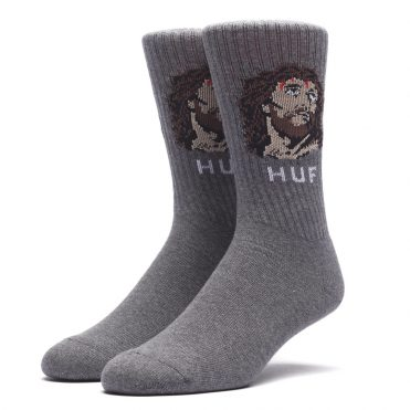 HUF December Dudes Series Socks Charcoal