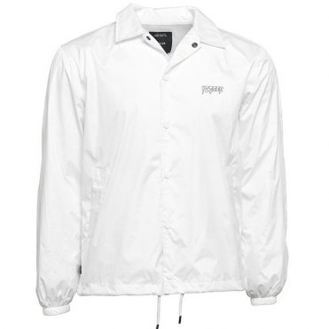 10 Deep Ripstop Coach Jacket White