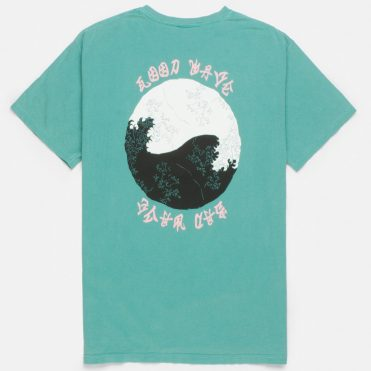 10 Deep Waves T-Shirt Teal