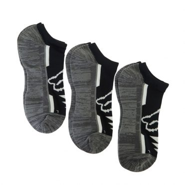 Fox Perf No Show Sock 3 Pack Black