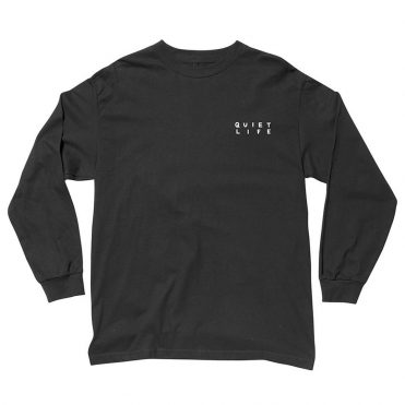 The Quiet Life Finder Long Sleeve T-Shirt Black