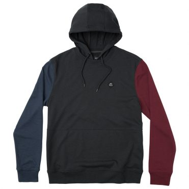 RVCA Mixed Bag Hooded Sweatshirt Black