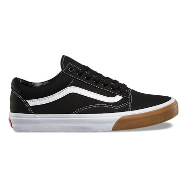 Vans Gum Bumper Old Skool Shoe Black True White